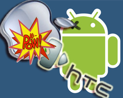 Apple vs. Android and HTC
