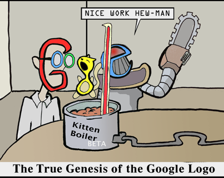 The inspiration for the Google logo