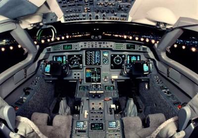 Cockpit G5 jet