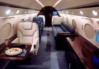 G5 jet interior